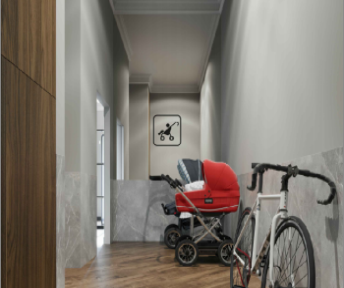 Помещение для колясок и велосипедов